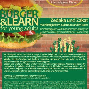 Burger & Learn - Special Edition II Islam Judentum