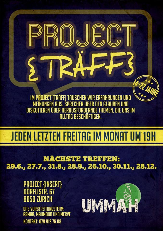 Project Träff Zürich Ummah Muslim