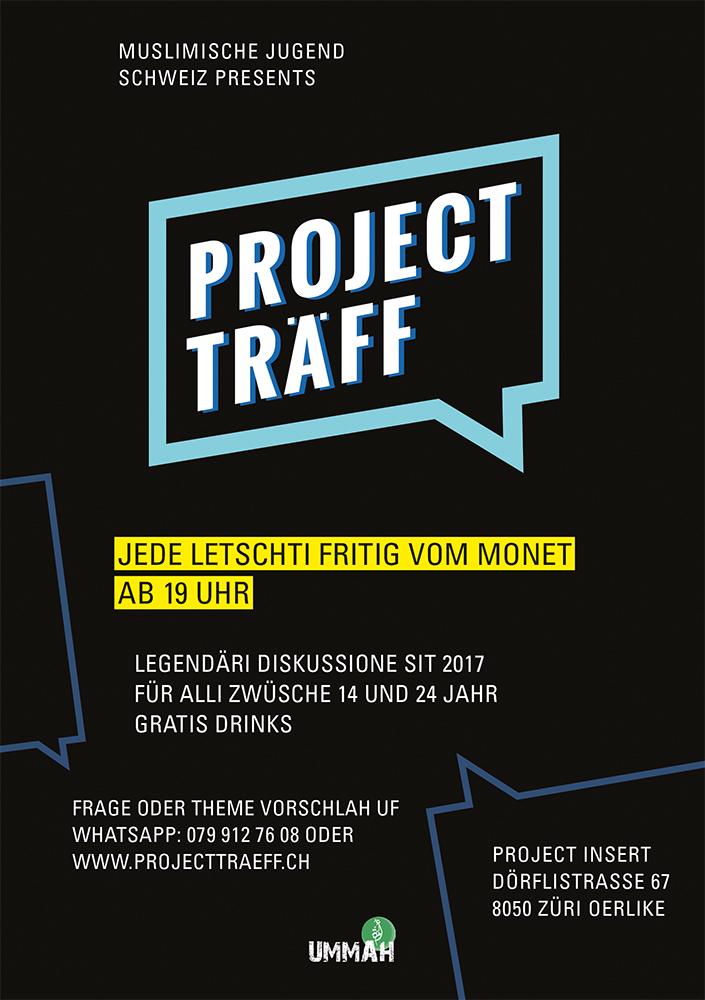Träff, Traeff, Diskussion, Zürich, Project